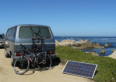 solarpanel pacificgrove joycecory portablesolarpanel volkswagonwithsolarpanel