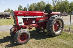 International 1566 Turbo (Thumpr455) Tags: show camera red tractor fall nikon diesel antique farming machinery international turbo farmall ih d800 farmtractor 1566 2013 pennscavepa nittanyantiquemachineryassociation afnikkor1635mmf4vrlens