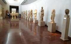 Hall of Statues (RobW_) Tags: hall ancient statues september greece tuesday olympia ilia peloponnese 2013 sep2013 17sep2013