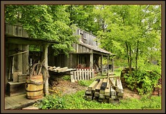 The Unknown Village (the Gallopping Geezer 3.5 million + views....) Tags: building abandoned mystery rural canon display antique decay michigan rustic structure collection faded worn unknown antiques curious henderson deserted artifacts decayed geezer 2013 tonemap wellkept