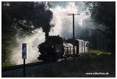 Preßnitztalbahn (olherfoto) Tags: railroad train eisenbahn rail railway trains steam bahn gauge narrow steamtrain dampflok dampfzug schmalspurbahn museumsbahn presnitztalbahn