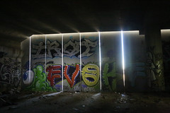 The Crypt (dkantoro) Tags: california urban usa streetart art graffiti oakland october urbandecay dystopia 2013 thecrypt