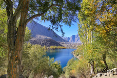 Lake Upper Kachura  |Love at first Sight (C@MARADERIE) Tags: blue autumn lake tree green serenity northernareas firstsight sigma1020mm skardu upperkachura canond500 lakesofpakistan mygearandme flickrstruereflection1 flickrstruereflection2 flickrsfinestimages1