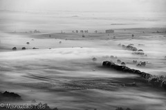 Sea of mist in BW (Mavroudakis Fotis) Tags: park morning travel autumn trees houses sky sunlight house mist color building tree green tourism church nature ecology beauty field yellow horizontal misty forest woodland landscape outside dawn countryside spring high scenery colorful europe day exterior village natural outdoor timber swiss country hill foggy meadow meadows peak hills adventure highland national pasture valley fields daytime outlook inversion traveling range saxon sustainability touristic sachs sachsische