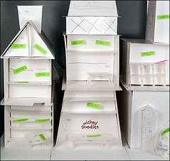 How to Make Paper Templates for Gingerbread House Building (The Official Wicked Goodies) Tags: paper cookie gingerbread gingerbreadhouse template cookiehouse gingerbreaddough wickedgoodies
