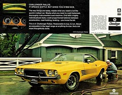 1972 Challenger Rallye (Rickster G) Tags: car ads se 1971 flyer muscle literature 70s dodge 1970 hemi mopar sales 1972 brochure ta 440 1973 rt sixpack challenger rallye dealer 426 383 chally ebody scatpack