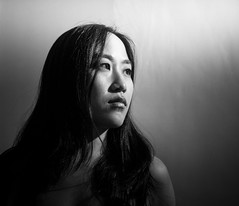 Other Half, age 29 (b&w) (Yellow Sky Photography) Tags: sarah twin age29 otherhalf