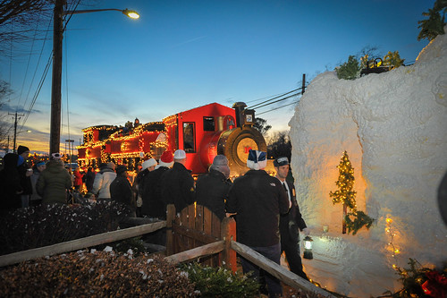 Lewes Christmas Parade 2013
