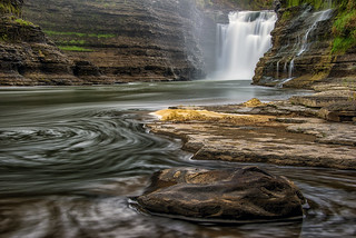 Upper Falls at Letchworth State Park
