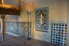 Granada - Alhambra Mexuar Hall Morisco Tiling (Le Monde1) Tags: espaa spain nikon king palace unesco worldheritagesite alhambra granada andalusia fortress tiling iberia palacio carlosv charlesv morisco alcazba mexuarhall albacn d7000 nasridkingdom lemonde1