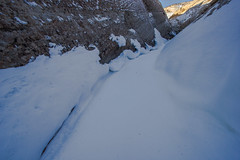 Burro Wash 1 (SLC_Dan) Tags: snow canon utah sandstone december capitolreef slot 1022mm slotcanyon capitolreefnationalpark 2013 canont2i
