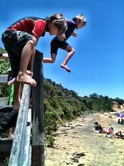 Beach action (miaow) Tags: birthday summer 6yo sixthbirthday