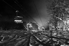 Powder Nights (Explored) (OzGFK) Tags: snow japan snowboarding asia hokkaido skiing powder niseko hirafu powpow canons100