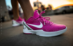 """Zoom Kobe VI """"Think Pink"""" (KCbruins) Tags: pink 2 6 3 foot 1 chaos breast 10 5 think 4 cancer kay 7 8 9 jordan grinch kobe awareness oc vi kd yow lebron wdywt"""