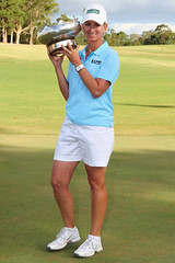 ISPS HANDA Women's Australian Open winner Karrie Webb (Ladies European Tour) Tags: australia melbourne vic aus