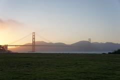 Sunset Golden Gate