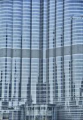 Base of Burj Khalifa, Dubai (Rod Waddington) Tags: sky building glass architecture dubai khalifa worlds base scraper burj tallest