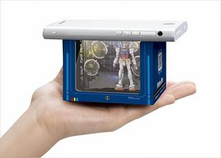 嶄新技術的熱門商品『HAKO VISION』(機動戰士鋼彈Ver.)台場限定版