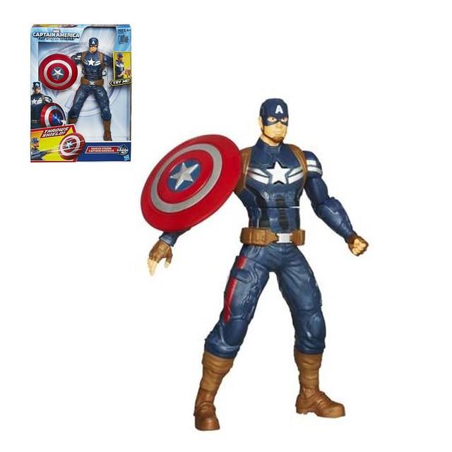 Hasbro 孩之寶玩具 美國隊長音效人物
