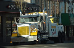 Maple Ridge BC (Ian Threlkeld) Tags: canada nikon bc semi recovery trucking towing wrecker semitrucks towtrucks d80 missiontowing