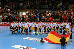 Spain (M.Ancian & A.Uriarte) Tags: sport switzerland spain suisse sweden croatia lausanne espagne handball croatie suède swisscup