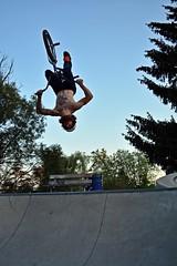 Backflip! (Braden Bygrave) Tags: cambridge canada bike cool nikon bmx awesome skatepark backflip nikond7100
