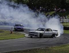 Just drifting (Chris Willis 10) Tags: cars car sisters smoke spin racing seven drift wigan