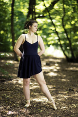 Ballet in the Woods with Zoe (Ajc-Photo-Film) Tags: lighting new wood light ballet colour tree green nature girl beautiful beauty grass mystery contrast rural pose dark lens fun outside flow person lights dance actors movement model woods nikon warm exposure glow open dress angle dancing natural skin zoom vibrant performance vivid move explore identity human freeze portraiture acting acrobatics po normal conceptual gaze depth act mock strobe octodome octodomes
