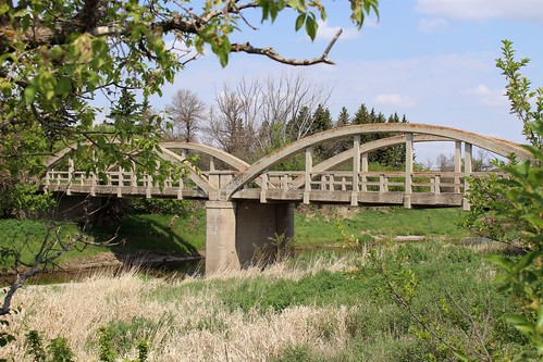 Moose Jaw River Bowstring Arch Bridge (R.M. of Moose Jaw No. 161, Saskatchewan)