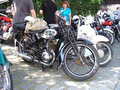 DKW SB 350 (John Steam) Tags: vintage germany bayern meeting motorbike 350 motorcycle oldtimer brauhaus dkw traunstein motorrad zschopau 2015 oldtimertreffen wochinger zweitakt sb350