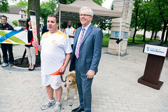 2015-06-22-Premier Selinger meets torchbearer Tim MacIsaac