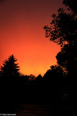 Ciel de feu (alex.bernard) Tags: sunset red sky canada canon de soleil sundown quebec ciel tamron montsainthilaire cielrouge tamron2470 canon5diii skycoucherdesoleilcoucher
