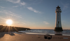 IMG_1633 (Calvin Hughes Photography) Tags: new light sunset sky lighthouse house rock out rocks brighton tide perch
