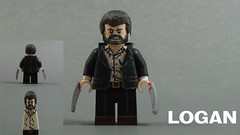 Custom LEGO Logan Minifigure (Will HR) Tags: lego custom logan