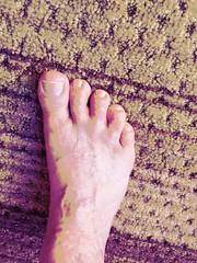 Pop Art (Brave Heart) Tags: toes feet lookdown popartfoot foot popart