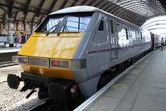 EAST COAST CLASS 91 AT YORK (Andrew Mansfield - Sheffield UK) Tags: york trains yorkstation class91 91122 eastcoasttrains