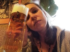 Friday beer.. (Ms Kat) Tags: selfportrait me beer michelle 365days mrowrr 177365 svijany