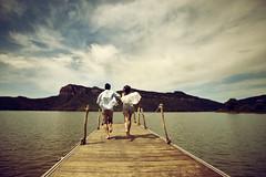 La felicidad solo dura unos instantes (laororo) Tags: pantanodesau