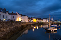 St Monans Harbour, Fife (Kit Downey) Tags: summer 3 june st night canon reflections boats eos harbor scotland fishing long exposure village fife dusk mark iii scottish historic 5d kit downey harbou monans 2013