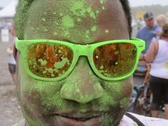 reflection green sunglasses closeup kevin colormerun top252013