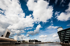 Big Sky (Mr Aardvark) Tags: sky clouds iso200 salfordquays 1020mm 10mm mediacity lr4 canoneos450d mraardvark 1640secatf80 28072013