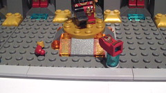 Lego Iron Man MOC: Golden Class Armory (Anthony Wilson (Bricks of Awesome)) Tags: man robert pepper gold golden ro