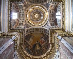 Dome and Apse of St Dominic's Chapel (Lawrence OP) Tags: church shrine dominican glory basilica ceiling dome bologna friar sandomenico founder apse stdominic orderofpreachers friarspreachers
