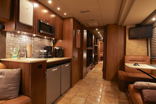 Thunder - Front Lounge and Galley