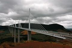 Viaduct of Millau over the river Tarn by Norman Foster (Sokleine) Tags: bridge france viaduct pont 12 tarn millau viaduc aveyron midipyrénées ouvragedart frenchheritage