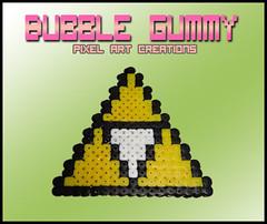Trifuerza (Bubble Gummy pixel art) Tags: nintendo videogames videogame zelda videojuego videojuegos triforce trifuerza hamabeads bubblegummy bubblegummypixelart