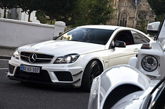 Amg series (Sir_Georgino) Tags: black london car mercedes benz series supercar spotting amg pagani c63