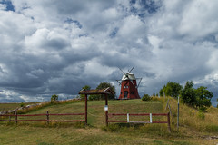 https://www.twin-loc.fr  Ile öland suède moulin à vent - Island öland sweden windmill - photo picture image photography