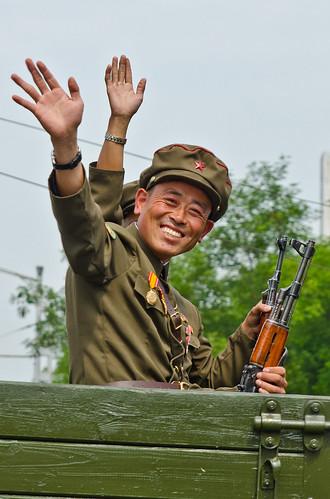 Military Parade, North Korean National Day