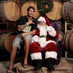 Santa July 2010